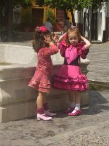Flamencomädchen (Medium)