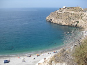 der Strand La Rijana